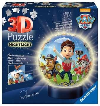 Puzzle 3D Ball 72 p illuminé - Pat Patrouille Puzzle 3D;Puzzles 3D Ronds - Image 1 - Ravensburger
