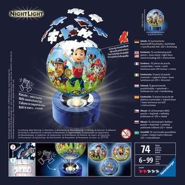 Nachtlicht - Paw Patrol 3D Puzzle;3D Puzzle-Ball - Bild 2 - Ravensburger