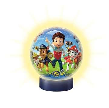 Puzzle 3D Ball 72 p illuminé - Pat Patrouille Puzzle 3D;Puzzles 3D Ronds - Image 3 - Ravensburger