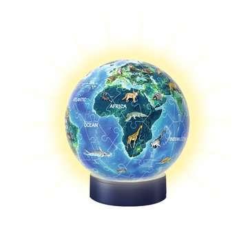 11844 3D Puzzle-Ball Nachtlicht - Erde bei Nacht von Ravensburger 3