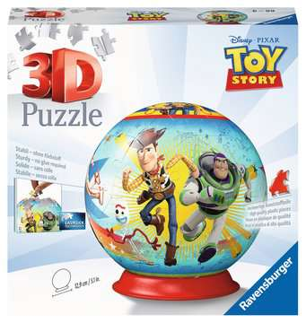 Toy Story 4 Ravensburger 3D  Puzzle ball 3D Puzzle;3D Puzzle-Ball - immagine 1 - Ravensburger