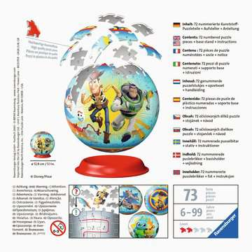 Toy Story 4 Ravensburger 3D  Puzzle ball 3D Puzzle;3D Puzzle-Ball - immagine 2 - Ravensburger
