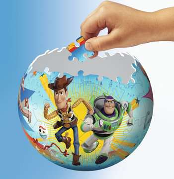Toy Story 4 Ravensburger 3D  Puzzle ball 3D Puzzle;3D Puzzle-Ball - immagine 4 - Ravensburger