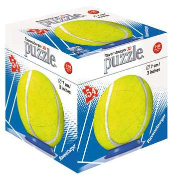 Puzzle-Ball Sportovní míč 54 dílků 3D Puzzle;Puzzleball - obrázek 1 - Ravensburger