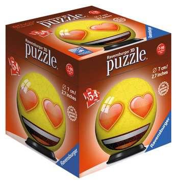 Emoji 3D puzzels;Puzzle 3D Ball - Image 2 - Ravensburger