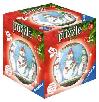 ŚWIĘTA 2017, PUZZLE KULISTE 3D,54EL Puzzle 3D;Puzzle Kuliste - Zdjęcie 2 - Ravensburger