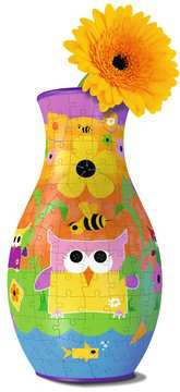 Váza Legrační sovy 216 dílků 3D Puzzle;Dívčí edice - obrázek 2 - Ravensburger