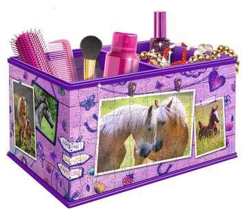 Aufbewahrungsbox - Pferde 3D Puzzle;3D Puzzle-Organizer - Bild 2 - Ravensburger