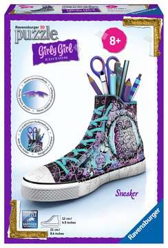 Girly Girl - Sneaker animal print 3D puzzels;3D Puzzle Girly Girl - image 1 - Ravensburger
