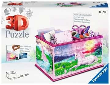 Unicorn Vanity Box 3D Puzzle®, 216pc 3D Puzzle®;Shaped 3D Puzzle® - image 1 - Ravensburger