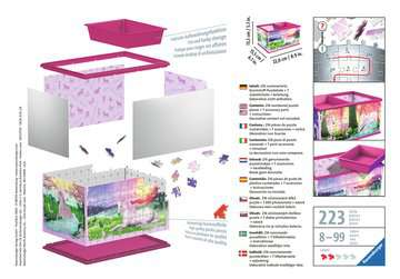 Úložná krabice Jednorožec 216 dílků 3D Puzzle;Zvláštní tvary - obrázek 2 - Ravensburger