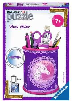 Unicorn Pencil Holder 3D Puzzle®, 54pc 3D Puzzle®;Shaped 3D Puzzle® - image 1 - Ravensburger