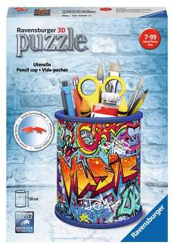Graffiti Pencil Cup 3D Puzzles;3D Storage Puzzles - image 1 - Ravensburger