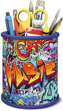 Graffiti Pencil Cup 3D Puzzles;3D Storage Puzzles - image 2 - Ravensburger