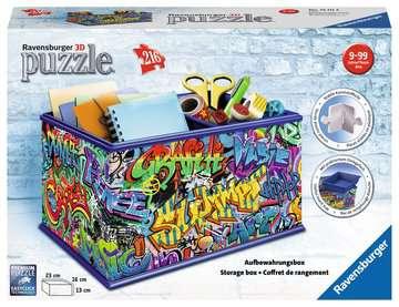 Graffiti Storage Box 3D Puzzle®, 216pc 3D Puzzle®;Shaped 3D Puzzle® - image 1 - Ravensburger