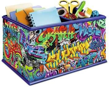 Graffiti Storage Box 3D Puzzles;3D Storage Puzzles - image 2 - Ravensburger