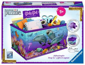 Aufbewahrungsbox - Unterwasserwelt 3D Puzzle;3D Puzzle-Organizer - Bild 1 - Ravensburger
