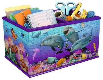 Aufbewahrungsbox - Unterwasserwelt 3D Puzzle;3D Puzzle-Organizer - Bild 2 - Ravensburger