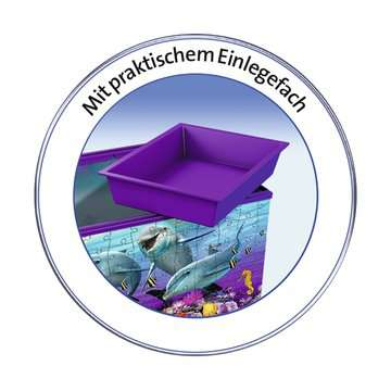 Underwater Storage Box 3D Puzzles;3D Puzzle Buildings - image 3 - Ravensburger