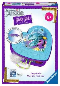 Herzschatulle - Unterwasserwelt 3D Puzzle;3D Puzzle-Organizer - Bild 1 - Ravensburger