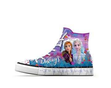 Puzzle 3D Sneaker - Disney La Reine des Neiges 2 Puzzle 3D;Puzzles 3D Objets à fonction - Image 5 - Ravensburger