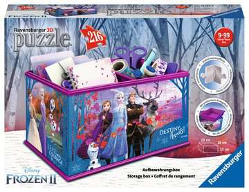 Puzzle 3D Boite de rangement - Disney La Reine des Neiges 2 3D puzzels;Puzzle 3D Spéciaux - Image 1 - Ravensburger