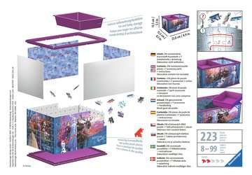 Úložná krabice Disney Ledové králotvství 2 216 dílků 3D Puzzle;Zvláštní tvary - obrázek 2 - Ravensburger