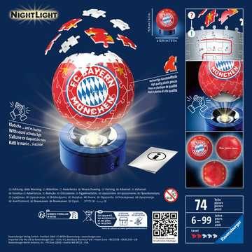 12177 3D Puzzle-Ball Nachtlicht - FC Bayern München von Ravensburger 2