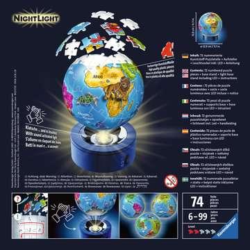 Puzzle 3D rond 72 p illuminé - Globe Puzzle 3D;Puzzles 3D Ronds - Image 2 - Ravensburger