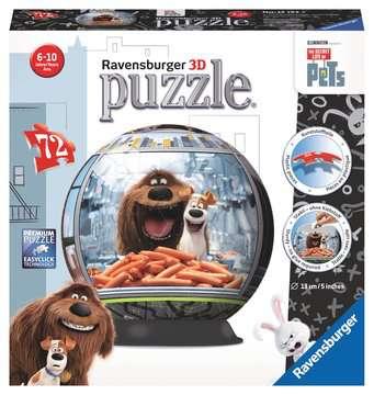 The Secret Life of Pets 3D Puzzles;3D Puzzle Balls - image 1 - Ravensburger