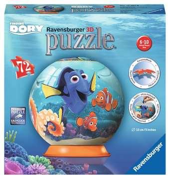 Finding Dory, 3D Puzzle®, 72pc 3D Puzzle®;Character 3D Puzzle® - image 1 - Ravensburger
