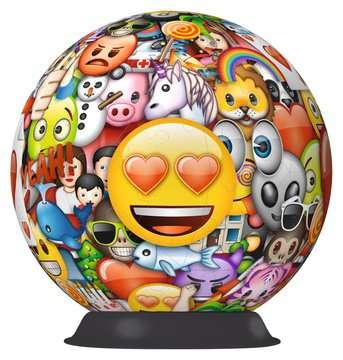 Puzzle 3D rond 72 p - emoji Puzzle 3D;Puzzles 3D Ronds - Image 2 - Ravensburger