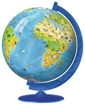 Children s World Map 3D Puzzle®, 180pc 3D Puzzle®;Maps 3D Puzzle® - image 3 - Ravensburger