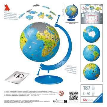 Puzzle 3D Globe 180 p Puzzle 3D;Puzzle 3D rond - Image 2 - Ravensburger