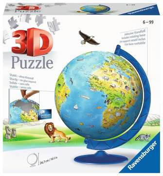 3D Globo 3D Puzzle;3D Puzzle-Ball - immagine 1 - Ravensburger