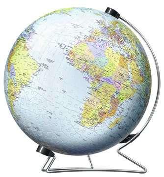 The World on V-Stand 3D Puzzle®, 540pc 3D Puzzle®;Puslebolde - Billede 2 - Ravensburger
