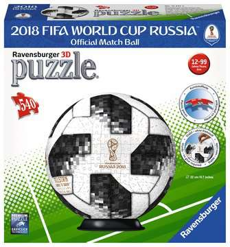 Match Ball 2018 FIFA World Cup Puzzles 3D;Monuments puzzle 3D - Image 1 - Ravensburger