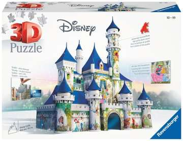 Disney 3D Castle 3D Puzzles;3D Puzzle Buildings - image 1 - Ravensburger
