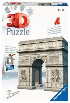 Puzzle 3D Arc de Triomphe Puzzle 3D;Puzzle 3D building - Image 1 - Ravensburger