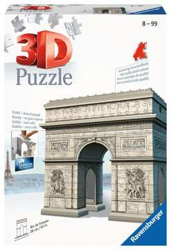 ŁUK TRIUMFALNY 3D 216 EL. Puzzle 3D;Budowle - Zdjęcie 1 - Ravensburger