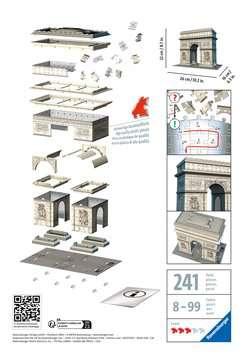 ŁUK TRIUMFALNY 3D 216 EL. Puzzle 3D;Budowle - Zdjęcie 2 - Ravensburger