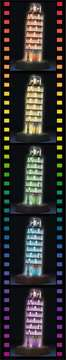 Torre di Pisa Night Edition 3D Puzzle;3D Puzzle - Building Night Edition - immagine 4 - Ravensburger