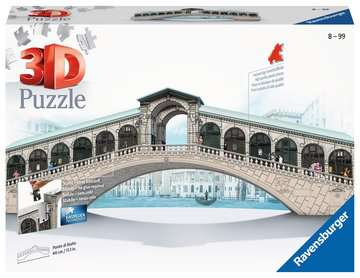Ponte di Rialto 3D Puzzle;3D Puzzle-Building - immagine 1 - Ravensburger