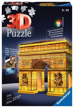 Arc De Triomphe Night Edition 3D Puzzle, 216pc 3D Puzzle®;Night Edition - image 1 - Ravensburger