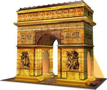 Arc De Triomphe Night Edition 3D Puzzle, 216pc 3D Puzzle®;Night Edition - image 3 - Ravensburger