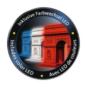 Puzzle 3D Arc de Triomphe illuminé Puzzle 3D;Puzzles 3D Objets iconiques - Image 4 - Ravensburger