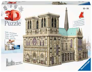 Notre Dame 3D Puzzle;3D Puzzle-Building - immagine 1 - Ravensburger