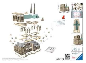 12523 3D Puzzle-Bauwerke Notre Dame de Paris von Ravensburger 2