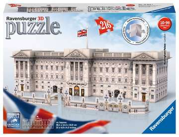 Buckingham Palace 3D Puzzle, 216pc 3D Puzzle®;Buildings 3D Puzzle® - image 1 - Ravensburger