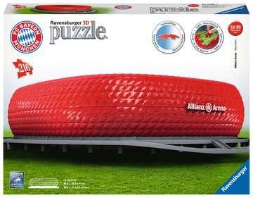 Puzzle 3D Stade Allianz Arena Puzzle 3D;Puzzles 3D Objets iconiques - Image 1 - Ravensburger